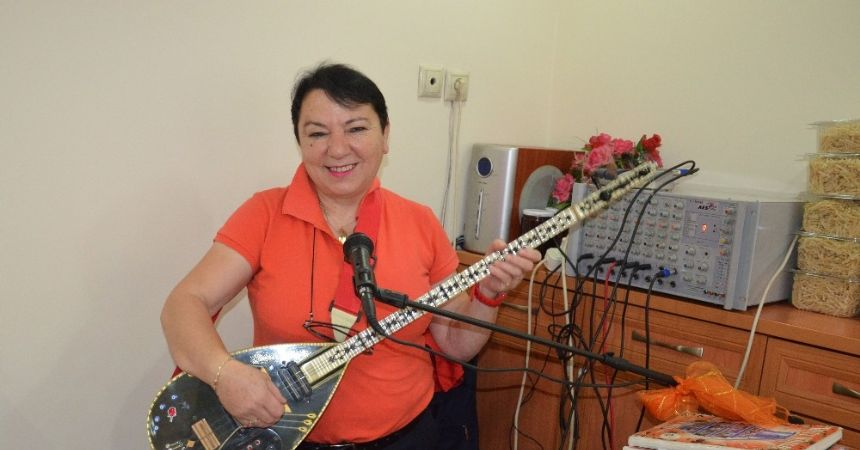 Ordu'nun tek kişilik kadın orkestrası