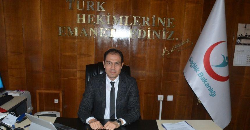Yeni Sinop Sağlık Müdürü göreve başladı