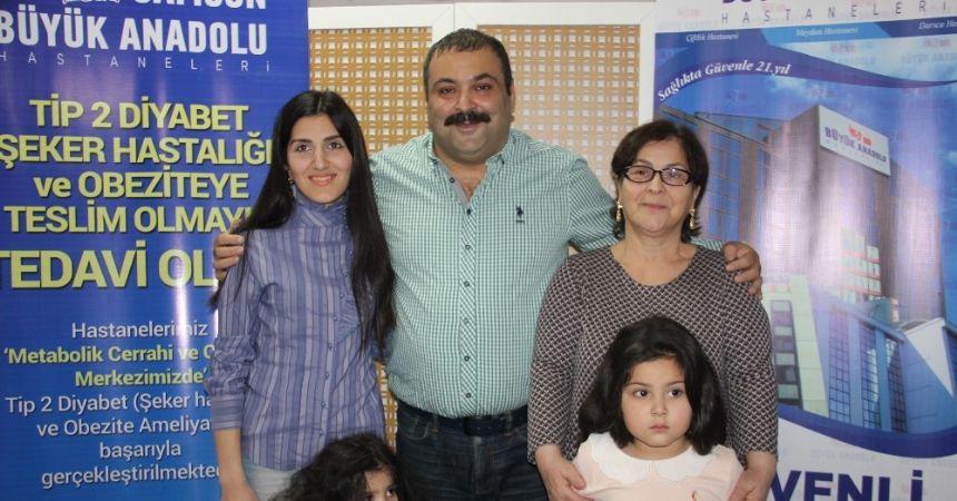 Azeri komedyen şifayı Samsun'da buldu