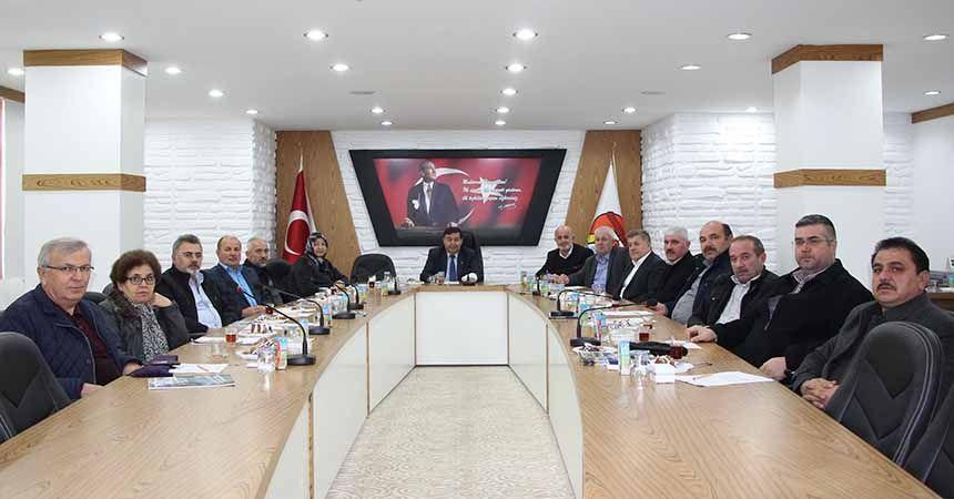 Havza Belediye Meclisi yeni yılda ilk kez toplandı