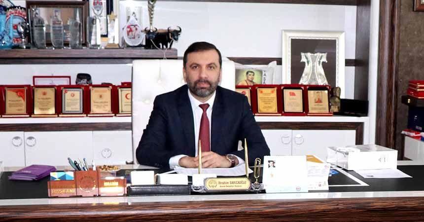 Sarıcaoğlu, Gazeteciler Günü'nü kutladı
