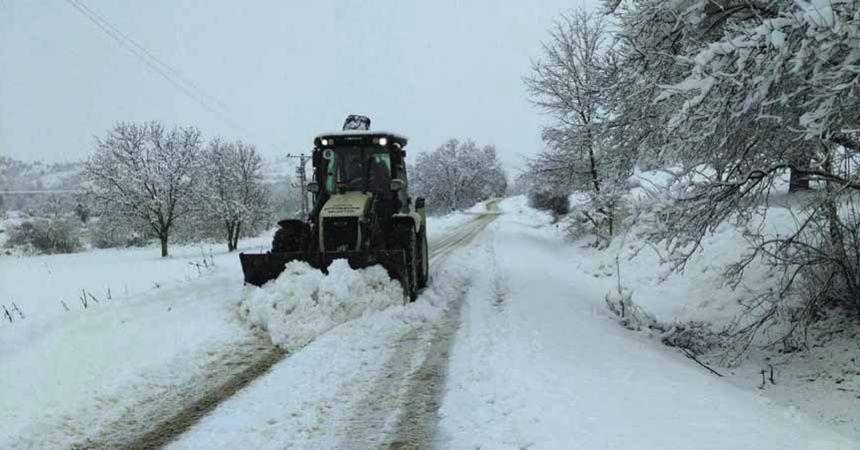 Büyükşehir, kar mücadelesine hazır