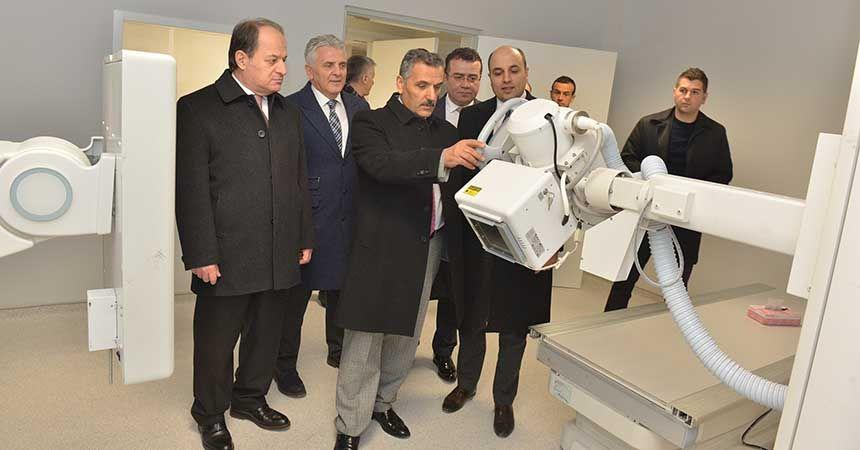Atakum hastanesi Pazartesi hizmete başlıyor