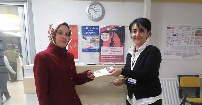 Büyük Anadolu'dan 'Verem Hastalığı' farkındalığı
