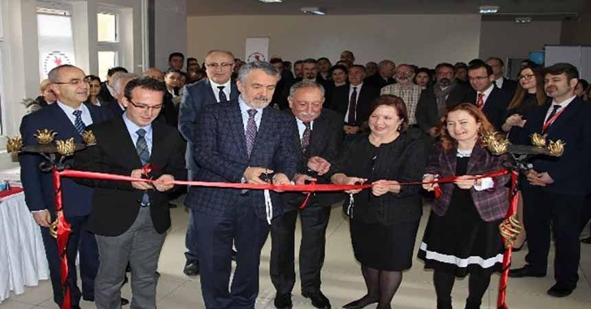 Türkiye'nin sayılı laboratuvarlarından biri OMÜ'de açıldı