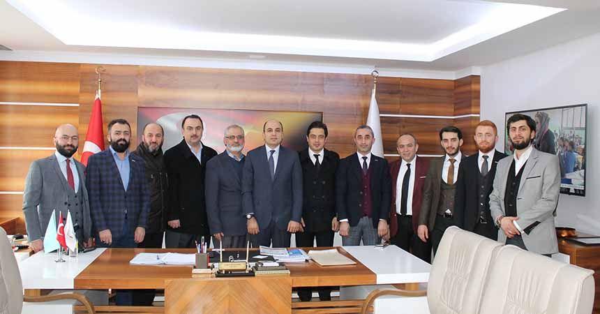 MÜSİAD'dan il müdürlerine ziyaret