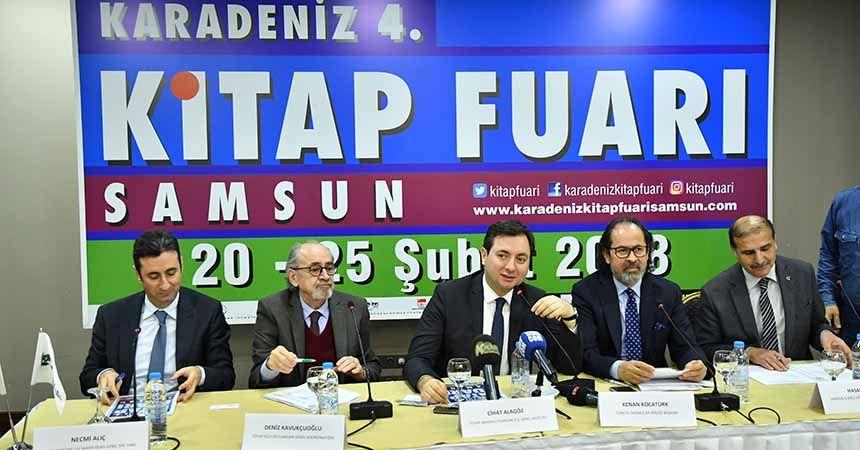 Karadeniz Kitap Fuarı açılıyor