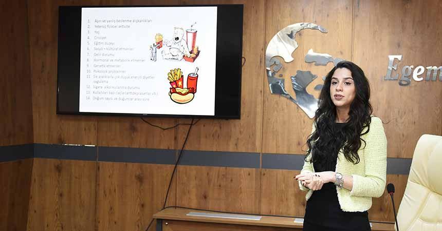 Tekkeköy'de 'Sağlıklı Beslenme ve Obezite' konferansı