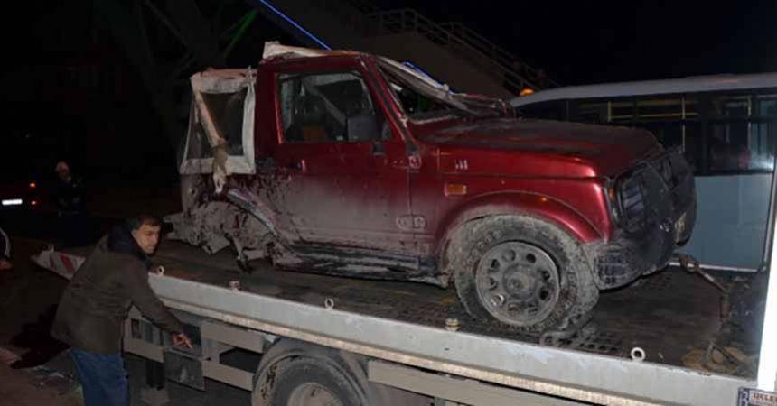 Ordu'da feci kaza: Cip ile otomobil çarpıştı