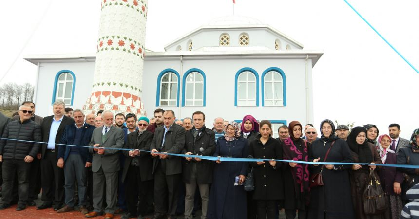 Canik'te 72 cami yenilendi