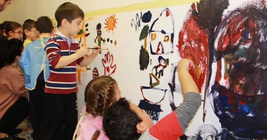 Anaokulu öğrencileri sanatı sevdi