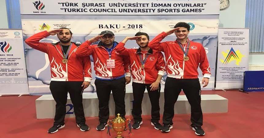 Erim ve ekibinden Bakü'de büyük başarı