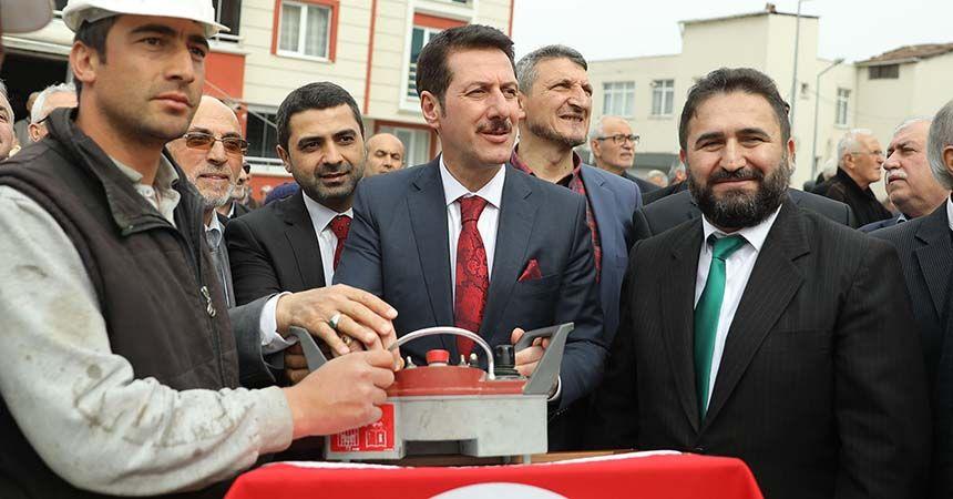 Yeni İlyasköy Camii'nin temeli atıldı