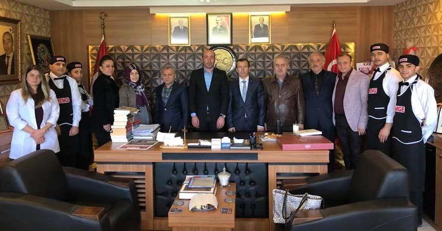 Lokantacılardan MHP'ye ziyaret