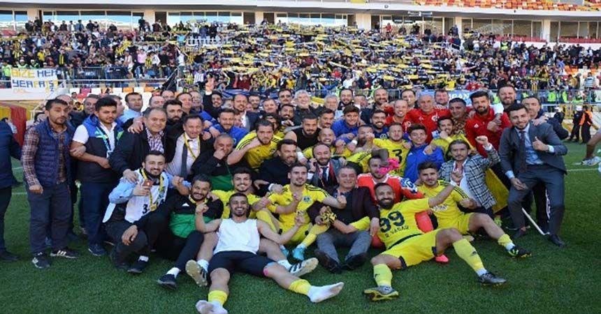 Fatsa Belediyespor'da 3. Lig sevinci