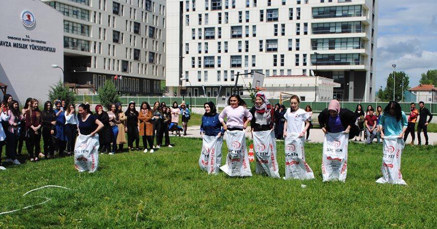 Havza MYO'da Bahar Şenliği