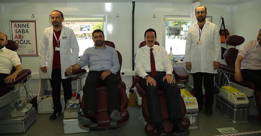 İlkadım'da kan bağışı seferberliği
