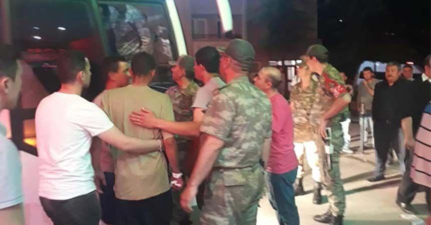 Amasya'da 81 asker zehirlendi