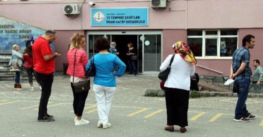 Samsun'da LGS heyecanı