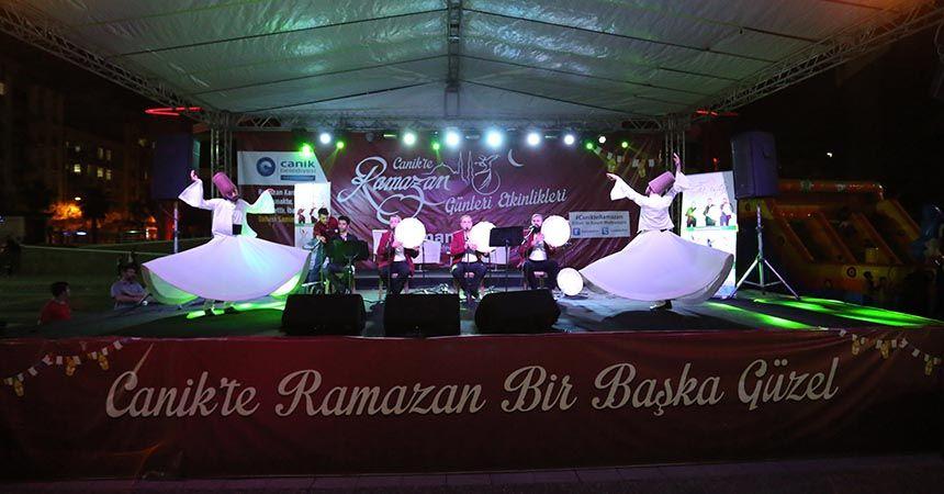 Canik'te huzur içerisinde bir ramazan yaşanıyor