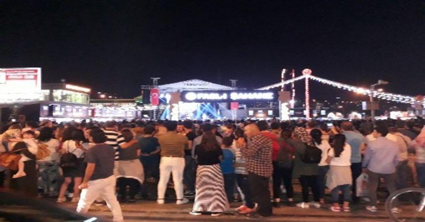 Samsun'da Zakkum rüzgarı esti
