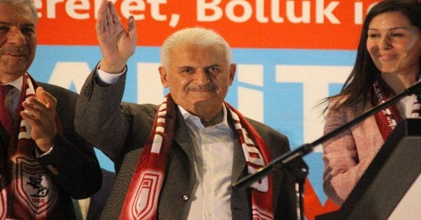 Başbakan Samsun'a uğradı!