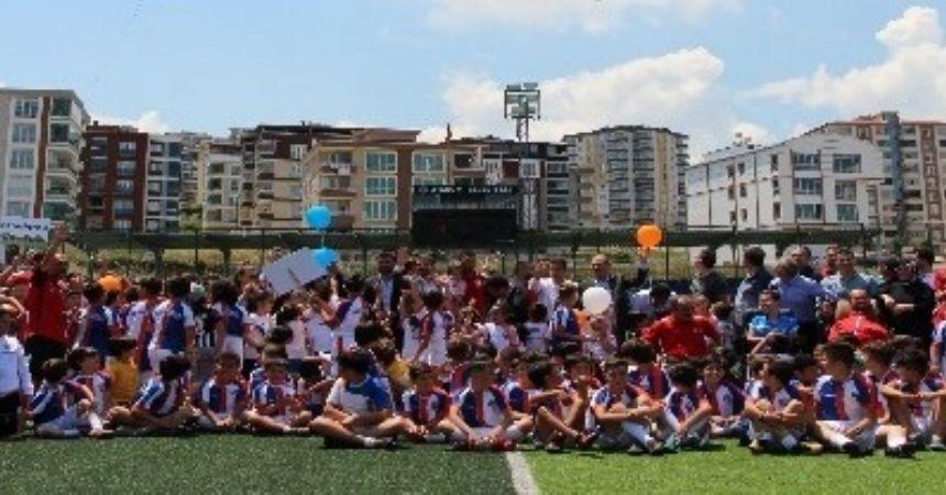Atakum Belediyespor yaz sezonunu açtı