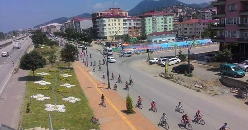 15 Temmuz Şehitleri için bisiklet turu yapıldı