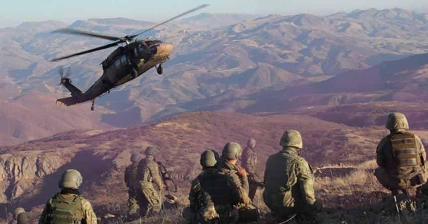 PKK'ya ağır darbe! 18 terörist öldürüldü