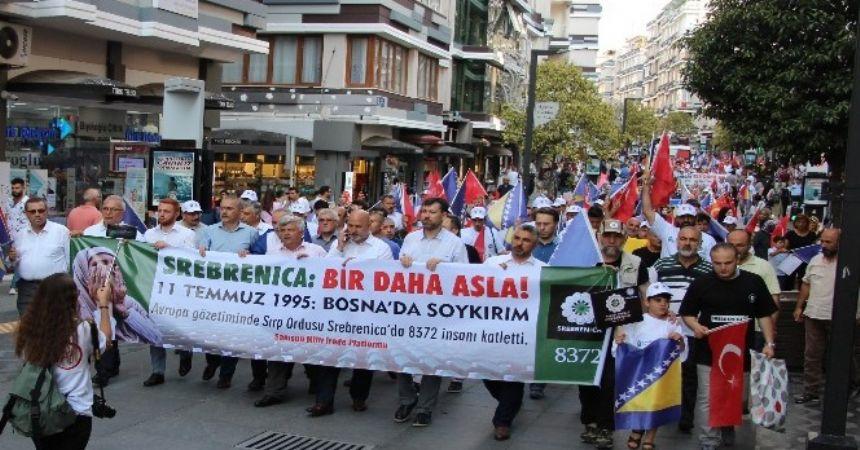 Samsunlular Srebrenitsa'yı andı