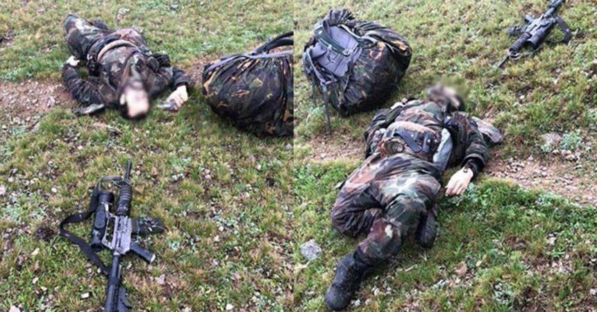 Eren'i şehit eden teröristler öldürüldü