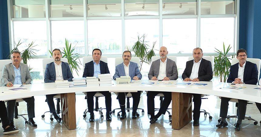 Büyükşehir ve Canik'ten istişare toplantısı