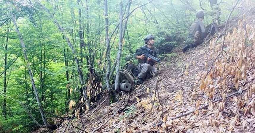 Tokat dağlarında terör operasyonu