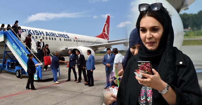 Samsun'a Kuveytli turist şoku