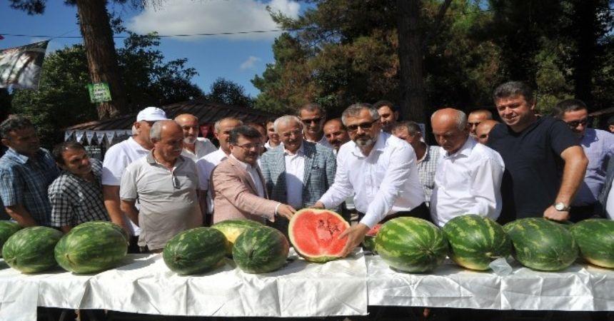 Bafra'da kavun karpuz festivali