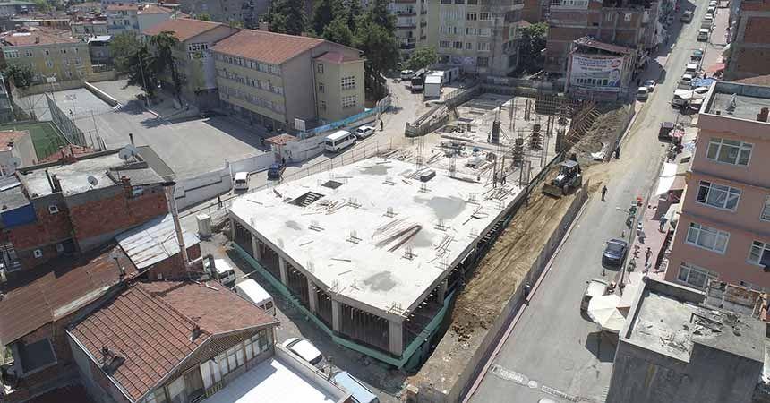 Unkapanı Kültür Merkezi yükseliyor