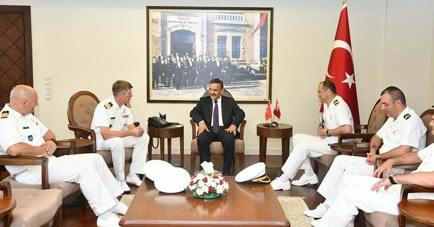 NATO komutanından Samsun'a övgü