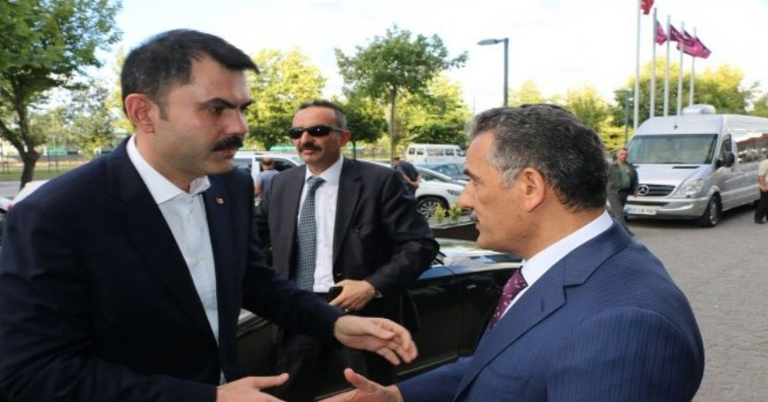 Çevre Bakanı Samsun'da