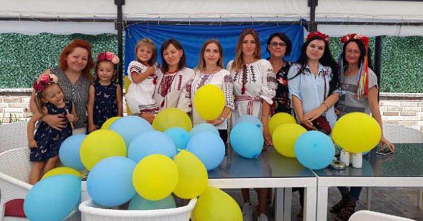 Ukraynalılar bağımsızlıklarını kutladı