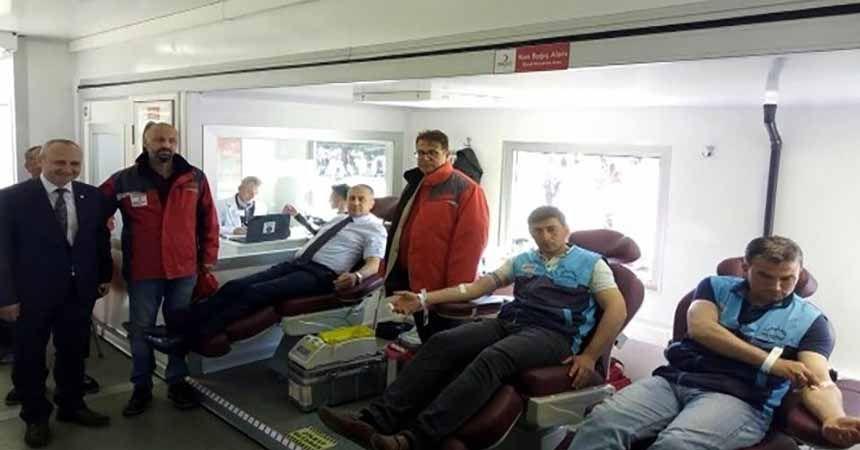 Kan bağışında erkek egemenliği!
