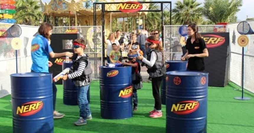 Çocukların 'Nerf Turnuvası' heyecanı