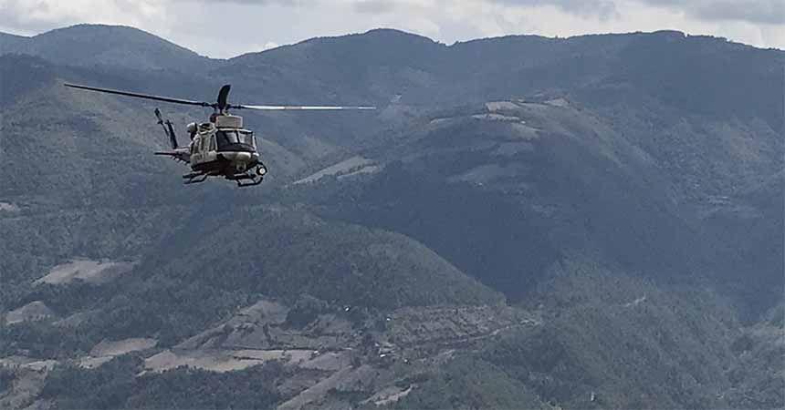 Helikopterli kenevir araması