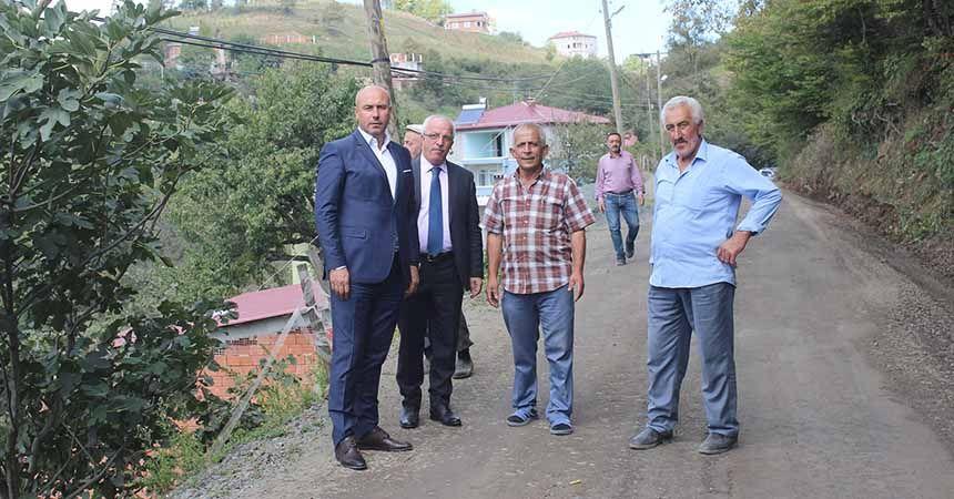 Tekkeköy'de yollar güzelleşiyor