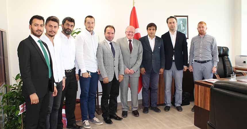 MÜSİAD'dan Samsun Üniversitesi'ne ziyaret