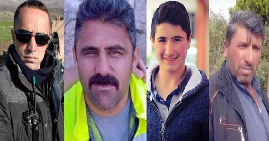 Kazada ölen 4 işçi toprağa verildi
