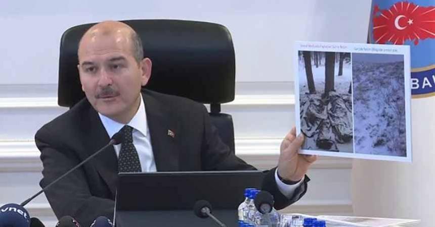 Soylu'dan donarak şehit olan asker açıklaması