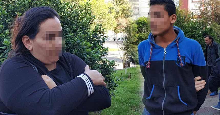 Iraklı kadın onu görünce hemen polisi aradı