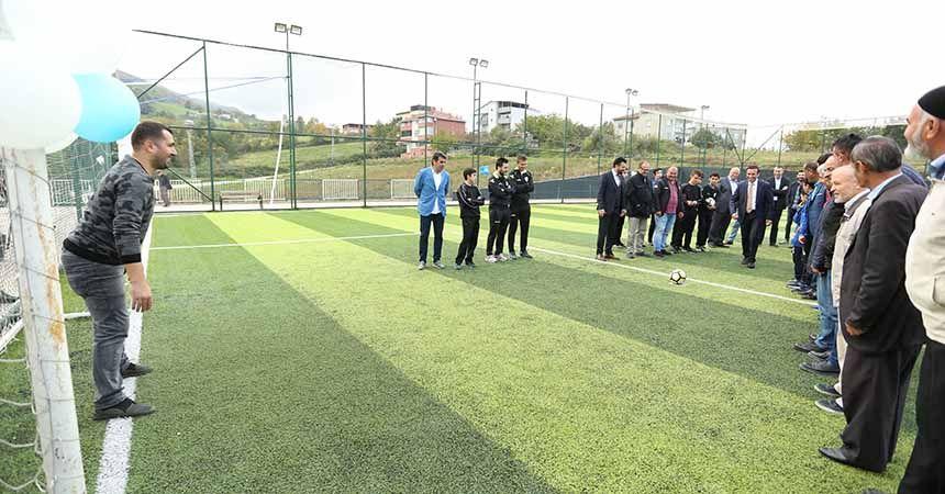 Canik'te kırsala yatırım sürüyor