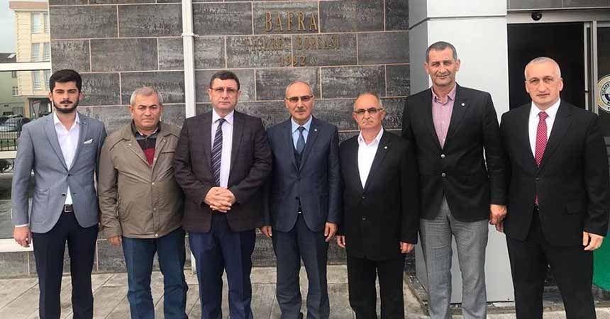 Kaymakam Türkel'den borsaya veda ziyareti