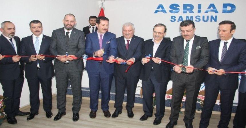 Asriad Samsun'da açıldı